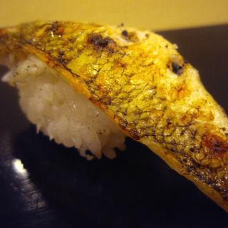 焼きサバの握り(小笹寿し )