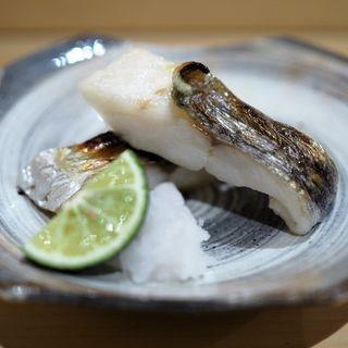 サワラの塩焼き(鮨 はしもと )