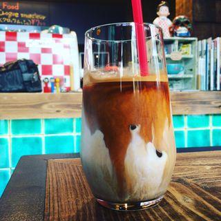 アイスラテ(ダビデ コーヒー ストップ (DAVIDE Coffee Stop))