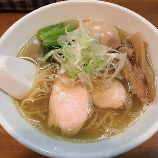 塩煮干しそば味付け玉子(限定)(ゆきち )