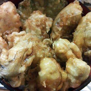 牡蠣天麩羅丼(かましま )