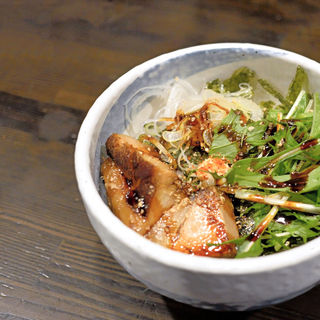 チャーシュー丼(製麺処 蔵木 )