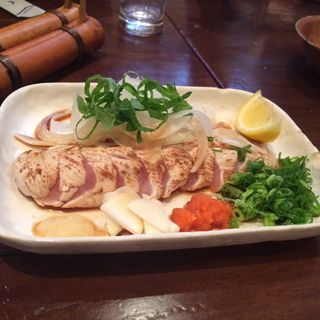 鶏ササミのタタキ(のんちゃん (本店))