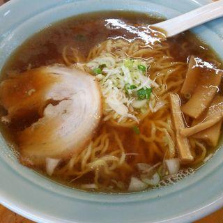 にぼし醤油ラーメン(めんかくぼう )