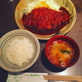 ロースとんかつ定食(矢場とん 名古屋駅名鉄店 )