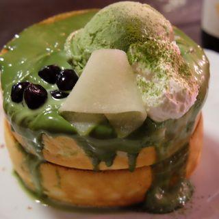 抹茶のパンケーキ(星乃珈琲店 稲城店 )