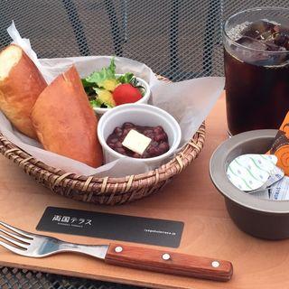 サンドパン&選べるトッピングココット プレート(両国テラスカフェ )