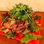 ラムグリルのサラダ
