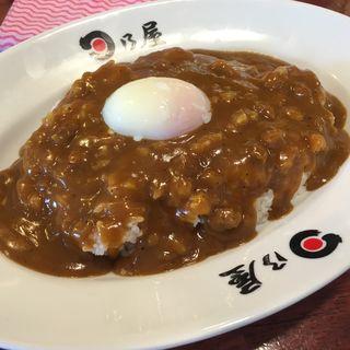 半熟卵カレー(日乃屋カレー 茅場町店 )