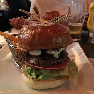 チーズバーガー(シェイクツリー バーガー&バー (shake tree burger&bar))
