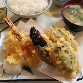 天ぷら定食(きさらぎ亭 (きさらぎてい))