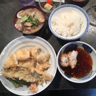 店長おすすめ定食(天ぷら 大吉 なんば店 )