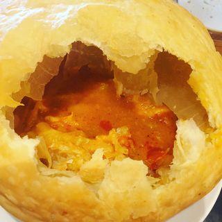 バターチキンカレーのパイ包み(ザ デック コーヒー&パイ (THE DECK COFFEE&PIE))