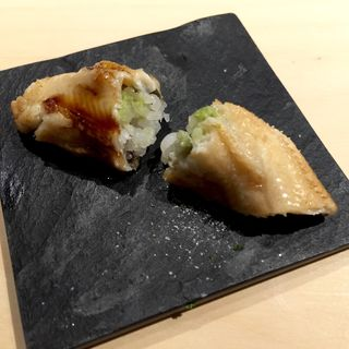 焼きあなご寿司(鮨 ニシツグ)