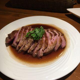 鴨胸肉の低温ロースト(きっしゅや )