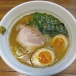 鶏ぱいたんらーめん+味付け玉子トッピング(らーめん 天道)