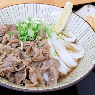 肉ぶっかけ冷(さくら製麺所。 )