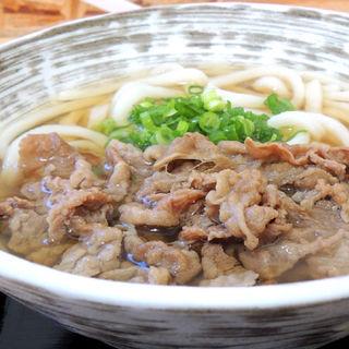 肉うどん(さくら製麺所。 )
