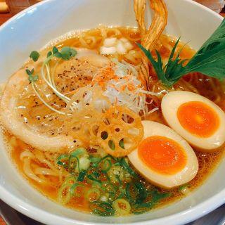 魚だしらーめん(ふじ門 製麺 )
