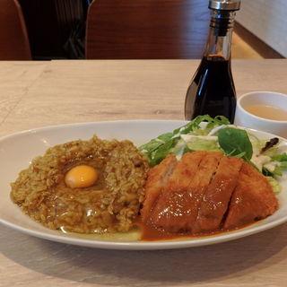 大阪混ぜカレーのランチ(バルテラス マゼル せんば自由軒 御徒町店 (BARTERRACE MAZEL))