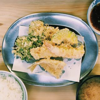 天ぷら定食(汁付)(いもや 本店 )