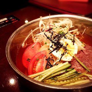 冷麺(焼肉いのうえ 渋谷店)