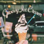 ミルク+クラッシュクッキー(gufo groovy ice cream)