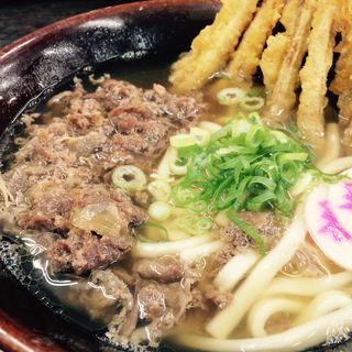 肉&ゴボ天(資さんうどん諸岡店)