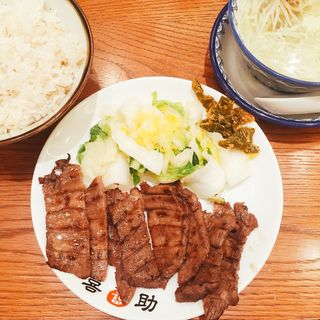 牛たん炭火焼定食 1人前(味の牛たん喜助)