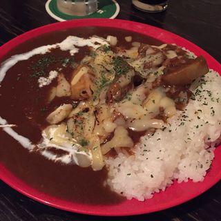 牛すじカレー(カレー屋アカマル )