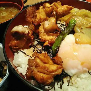 焼き鳥丼(串八珍 茅場町店 (くしはっちん))