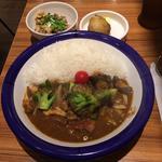 ビーフ+野菜カリー(エチオピアカリーキッチン 御茶ノ水ソラシティ店 )
