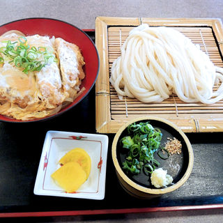カツ丼セット(さぬき麺業 松並店 )