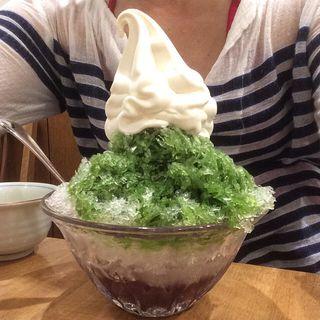 宇治抹茶クリーム氷(みはし アトレ上野店 )