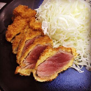 牛ロースランチかっつセット(牛かつ おか田 (ギュウカツ オカダ))