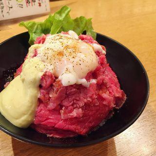ローストビーフ丼(ゴウ スタンド (GOU STAND))