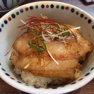 TOKYO X炙り豚飯(3周年記念限定)(らー麺 あけどや )