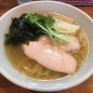 冷たい塩らーめん(煮干しベース)(限定)(ゆきち )