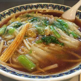 手打ちサンマー麺(集来 (しゅうらい))