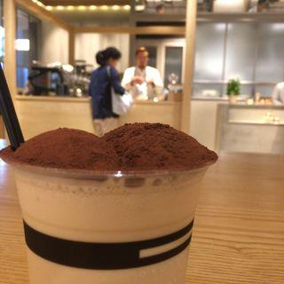 アイスカプチーノ(虎ノ門コーヒー (TORANOMON KOFFEE))