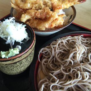 天丼セット(そばよし )