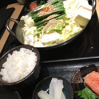 博多もつ鍋ランチ(博多もつ鍋おおやま 大阪駅店 )
