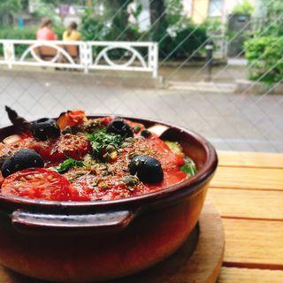 秋庭農園のゴロゴロ野菜のオーブン焼き(ヒラクヤ オステリア (HIRAKUYA OSTERIA))
