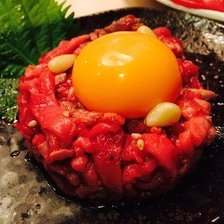 ローストビーフユッケ(焼肉・冷麺しちりん家 有松店)
