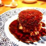獅子頭 大きな肉団子 伝統的な上海醤油煮込み