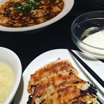 麻婆豆腐定食+餃子