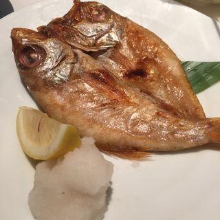 えぼ鯛の一夜干し(新橋 二貴 (しんばし にたか))