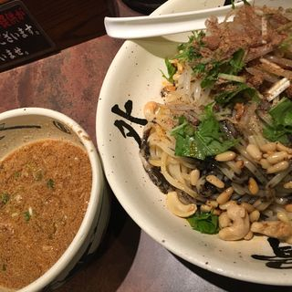 冷やし坦々つけ麺(麺屋 武蔵 武骨外伝)