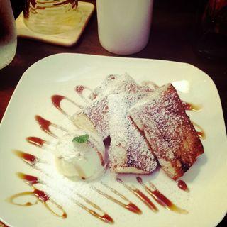 フレンチトースト(sanchome cafe)