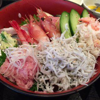 海鮮丼(えぼし 海老名丸井ファミリー店)